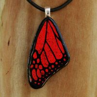 Medium Fused Glass Wing by FusedElegance