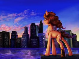 Commish: Admiring the View by erovoid