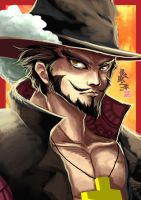 Mihawk by Wenart