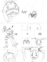 Robot vs. Spider (pg. 1) by air-bourne