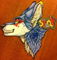 Splat Badge Commission by nightspiritwing