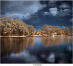 Infrared Lake by Enkased
