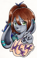 Haze Badge July 2015 by Kaeilia