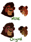 Kovu's Colours (Comparison) by RigorM0RTIS