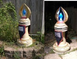 WoW Blood Elf Postbox finished by Hypercats