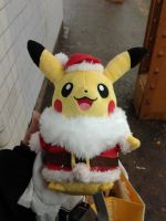 Santa Pikachu Kazzy Auction Donation by HinataFox790
