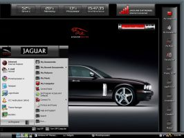 Jaguar Racing Desktop by freddiemac