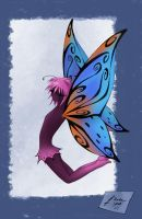 butterfly coloured by satsuki-herro