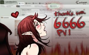 Thanks for the 6666 pageviews by LarryMoe2012