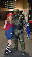Master Chief (foam build) - AVCon promo by Old-Trenchy