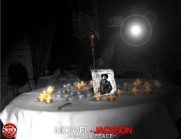 REST IN PEACE MICHAEL JACKSON by SushiDesigns1
