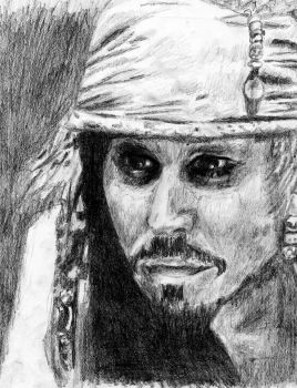 Captain Jack Sparrow by Murdertz