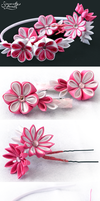 Little Princess Kanzashi by SincerelyLove