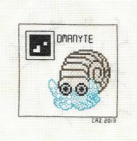 +BLACKWORK+ Omanyte by gatchacaz