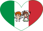 Italy Brothers Shimeji Heart by LadyAxis