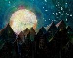 Urban Moon (For Jessica) by rabbitica