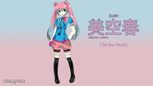Misora Haru Demo Song: Tell Your World by 4sages