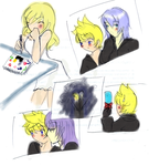 Snaps -Namine Draws RikuRoku- by fantacination