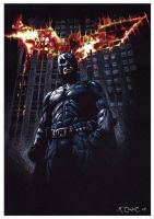 Batman The Dark Knight by ktalbot