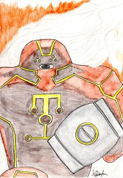 Juggernaught Fear Itself by Anthony-Callaghan