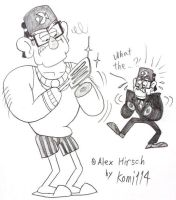 Stan Pines with no hands! by komi114