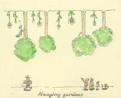 City planning 1, hanging gardens by MattiasA