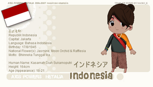 APH OC - Indonesia by pyreion