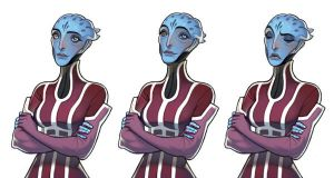 Another Asari by joy-ang