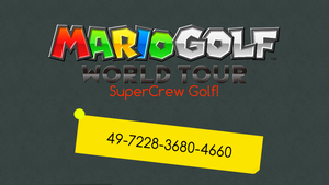 SuperCrew Golf! (MGWT) by SuperLeboy