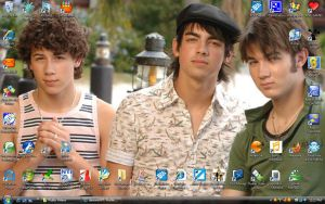 Hot Jonas Brothers Wallpaper by PirateLord