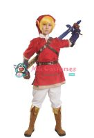The Legend of Zelda Link Red Cosplay Costume by miccostumes