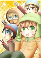 South Park: Count down by Kamaniki