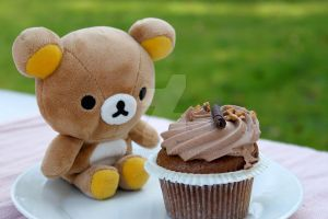 Rilakkuma Cupcake Time by SanctyYumi