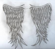 Angelic Wings by Tailef