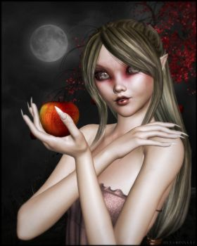 Want this apple? by Hexe2008