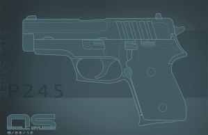 SIG P245 Lines by cityofthesouth
