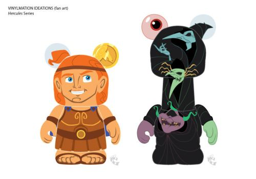 Hercules and The Fates by CBeeProject