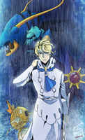 Pokemon Kalos Elite Four - Siebold by nivlacart