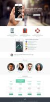 Launchpad - Responsive App Landing Page by DarkStaLkeRR