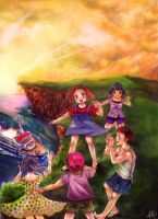 The Children's Island by Pae-kym
