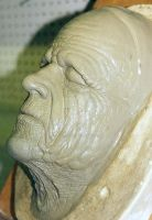 Old age prosthetic sculputre by Dave Britton by BrittonsConcoctions