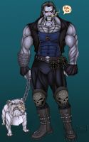 Lobo and Dawg - 2008 by Killerbee-Kreations