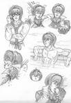 Leo sketches by Marth-the-Fabulous