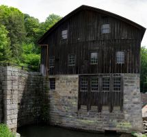 Mill and Stream Composite Project 43 by wetdryvac