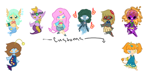 ittle Monsters Adopts (Open) by Ivory-Aria