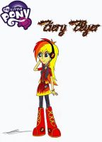 Fiery Flyer (EQG Firefly) by AZ-Derped-Unicorn