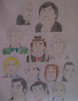 The Doctors - Doctor Who by BlueHedgehog1997