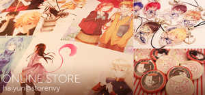 Online Store Update! by Haiyun