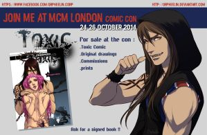 MCM LONDON 2014 I'm IN ! by Orpheelin