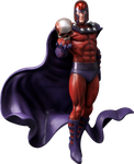 Magneto statue  Render by bobhertley